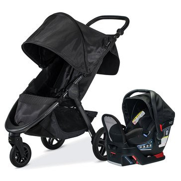 Britax B-Free & Endeavours Travel System