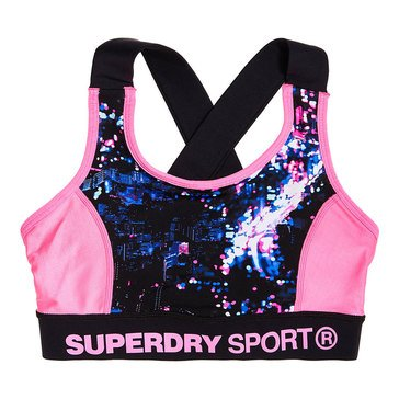 Superdry Women's Active Panel Sports Bra