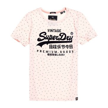Superdry Women's Premium Goods Shimmer Entry Tee