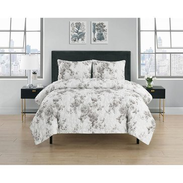 Harbor Home Delilah 3pc Quilt Set