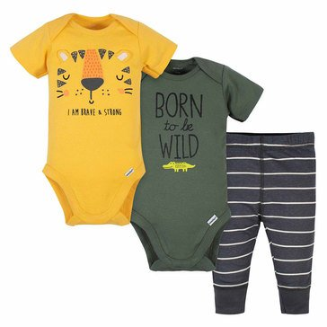 Gerber Baby Boys' 3-Piece Take Me Home Set