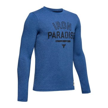 Under Armour Big Boys' Project Rock Iron Paradise Tee