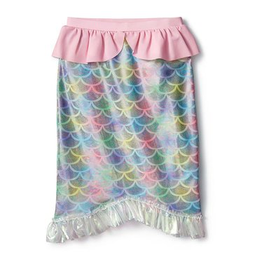 Liberty & Valor Little Girls' Mermaid Tail Skirt