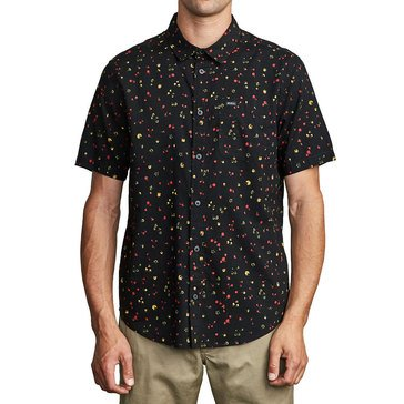 Rvca Men's Calico Shirt