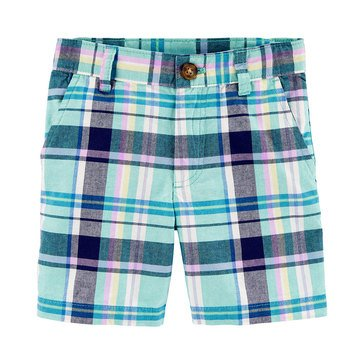 Carter's Toddler Boys' Plaid Short