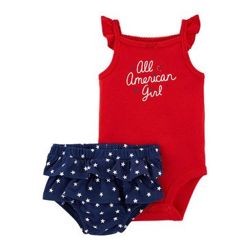 Carter's Baby Girls' All American 2-Piece Set