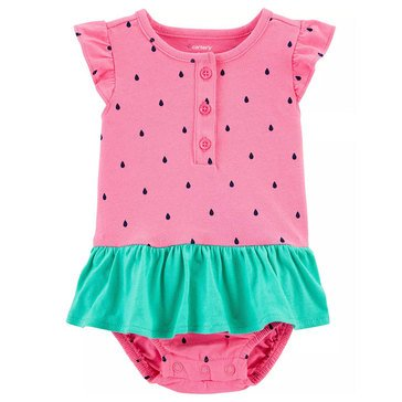 Carter's Baby Girls' Watermelon Sunsuit