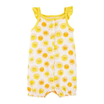 Carter's Baby Girls' Sunshine Snap Up Romper