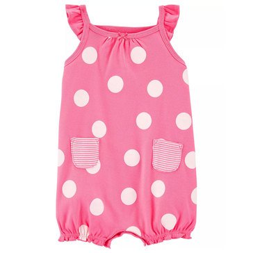 Carter's Baby Girls' Crab Snap Up Romper
