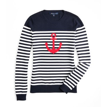 Brooks Brothers Women's Anchor Sweater
