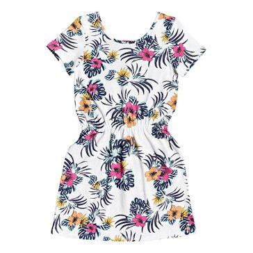 Roxy Big Girls' Clouds  All Over Tropical Dress