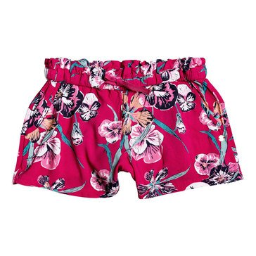 ROXY Big Girls' Rainbow Shower Tropical Shorts