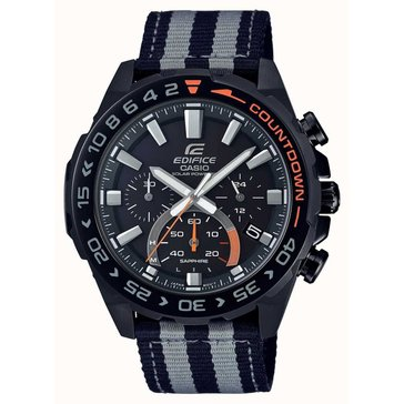 Casio Men's Back Dial/Black Resin Strap Watch, 50.5mm