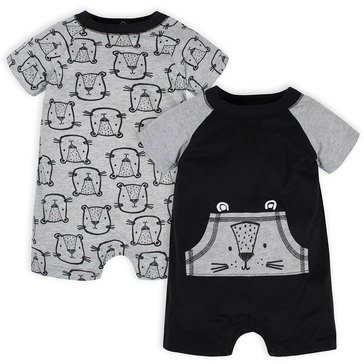 Gerber Baby Boys' 2-Pack Romper Set