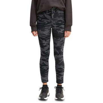Levi's Women's 721 Hi-Rise Skinny Ankle Camo Jeans
