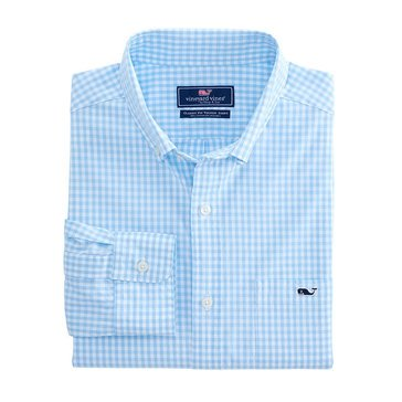 Vineyard Vines Men's Aberdeen Classic Tucker Gingham Sportshirt