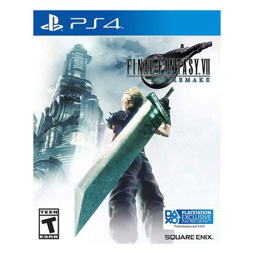 PS4 Final Fantasy VII Remake Standard Edition