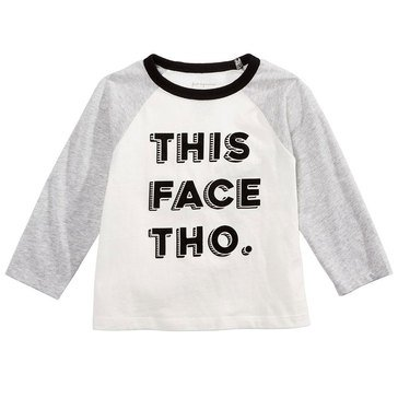 First Impressions Baby Boys' This Face Tho Tee