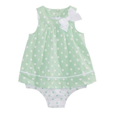 First Impressions Baby Girls' Polka Dot Sun Suit