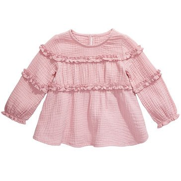 First Impressions Baby Girls' Ruffle Top