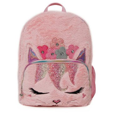OMG Flower Crown Bella Kitty Large Backpack
