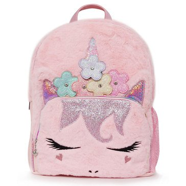 OMG Flower Crown Miss Gwen Unicorn Large Backpack