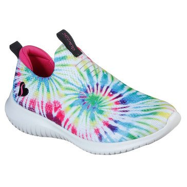 Skechers Kids Girls' Dreamy Lights Slip On Shoe (Little Kids/Big Kids)