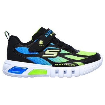 Skechers Kids Little Boys' Flex Glow Lites Sneakers