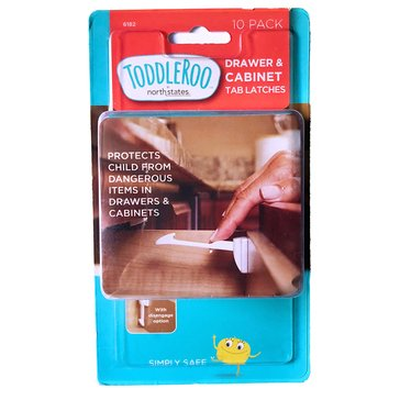 Toddleroo by North States® Drawer & Cabinet Tab Latches