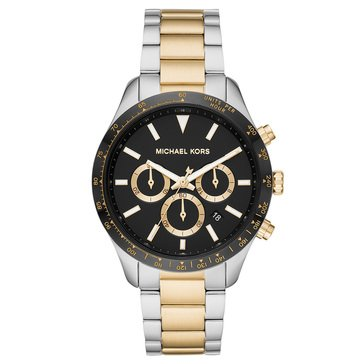 Michael Kors Women's Layton Two Tone Bracelet Watch, 44mm