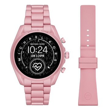 Michael Kors Women's Access Blush Bracelet Smart Watch, 44mm