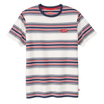Levi's Men's Merrick Repeat Striped Crew Knit