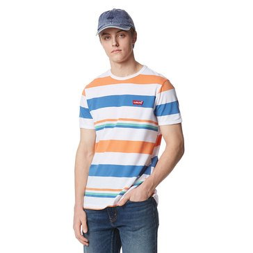 Levi's Men's Gracewood Multi Striped Crew Knit