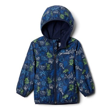 Columbia Toddler Boys' Pixel Grabber Reversible Jacket
