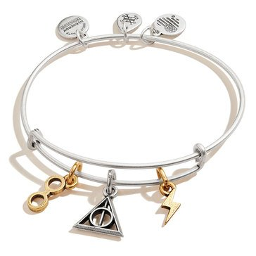 Alex and Ani Harry Potter Deathly Hallows Bangle, Multi Tone