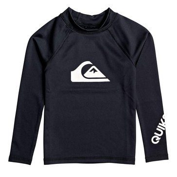 Quiksilver Little Boys' All Time Long Sleeve Rash Guard