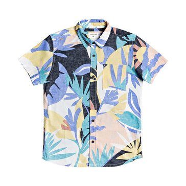Quiksilver Big Boys' Tropical Flow Shirt
