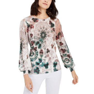 I.N.C. International Concepts Women's Tie-dyed Sweater