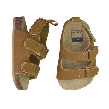 Carter's Boys' Cork Sole Sandal