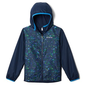 Columbia Little Boys' Pixel Grabber Reversible Jacket