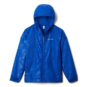 Columbia Big Boys' Pixel Grabber Reversible Jacket