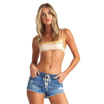 Billabong Women's Lite Hearted Cutoff Denim Shorts