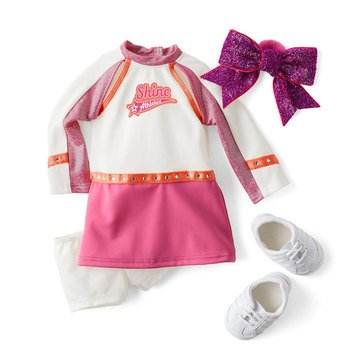American Girl Joss's Cheer Competition Outfit for 18-inch Dolls