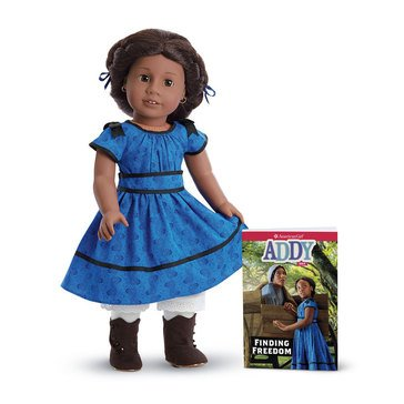 American Girl Addy Doll and Book