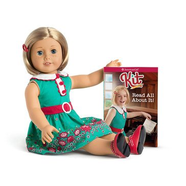 American Girl Kit Doll & Book