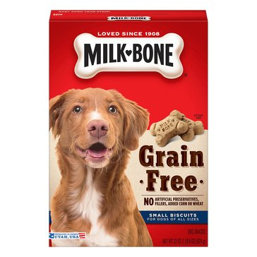 MilkBone Grain Free Biscuits 22 oz. Dog Treats