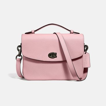 Coach Polished Pebbled Leather Cassie Crossbody
