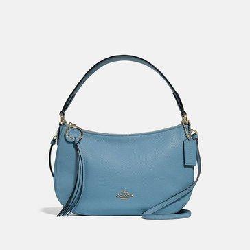 Coach Polished Pebble Leather Sutton Crossbody