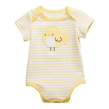 First Impressions Baby Boys' Chick Stripe Bodysuit