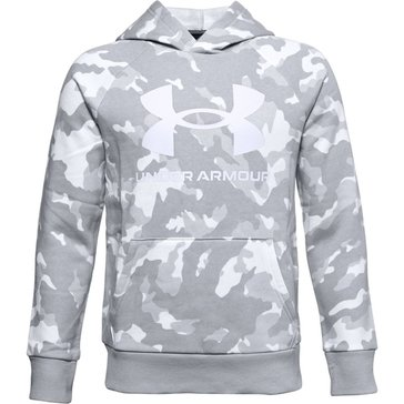 Under Armour Boys Rival Fleece Printed Hoodie